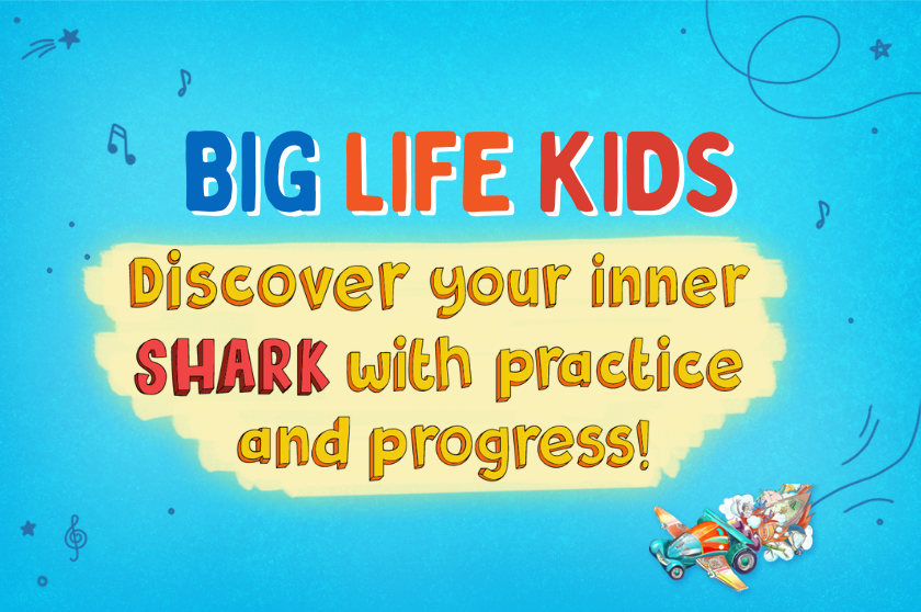 Discover your inner SHARK with practice and progress!