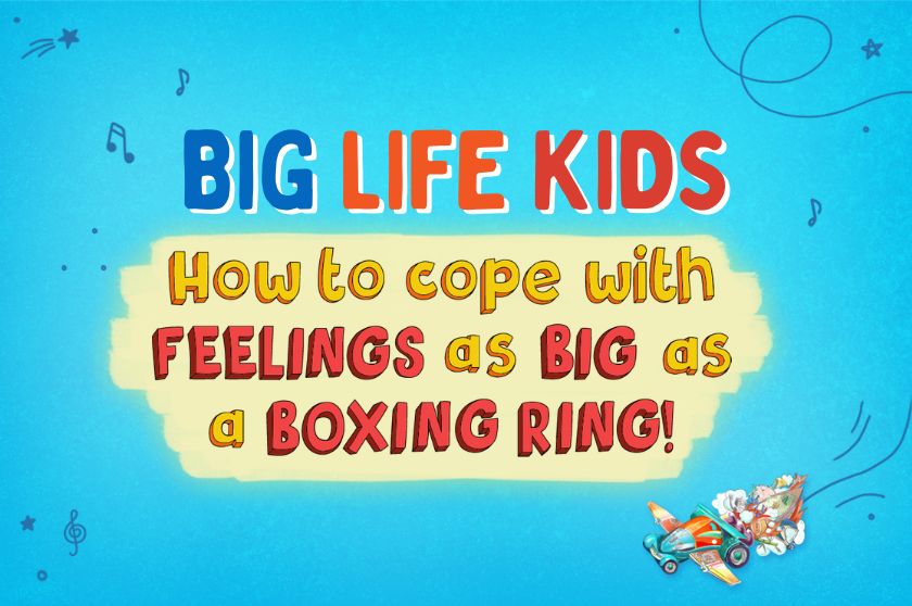 How to Cope with FEELINGS as BIG as a BOXING RING!