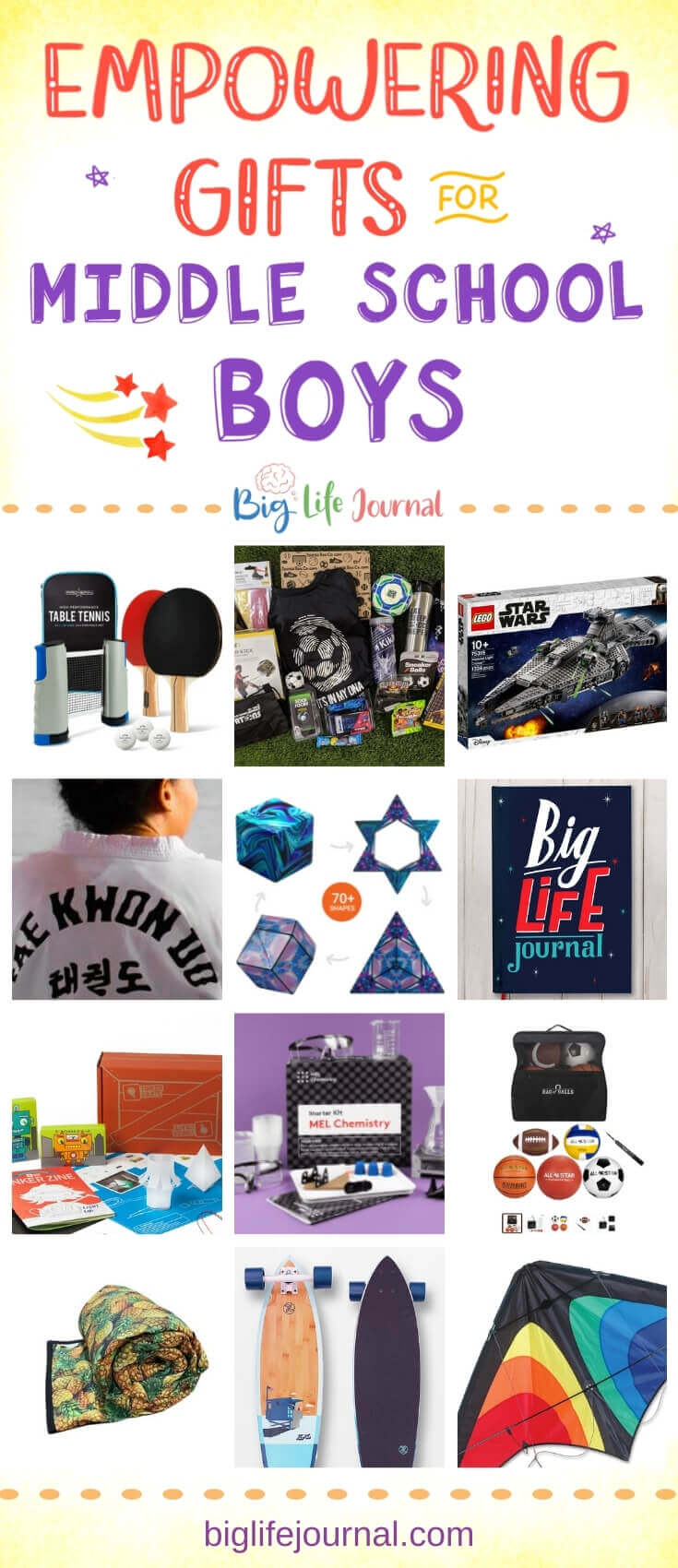 15 Gifts for Middle School Boys