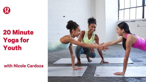 20 Minute Yoga for Youth with Nicole Cardoza