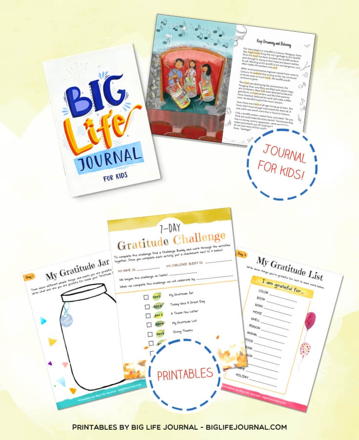 Big Life Journal and Gratitude Challenge