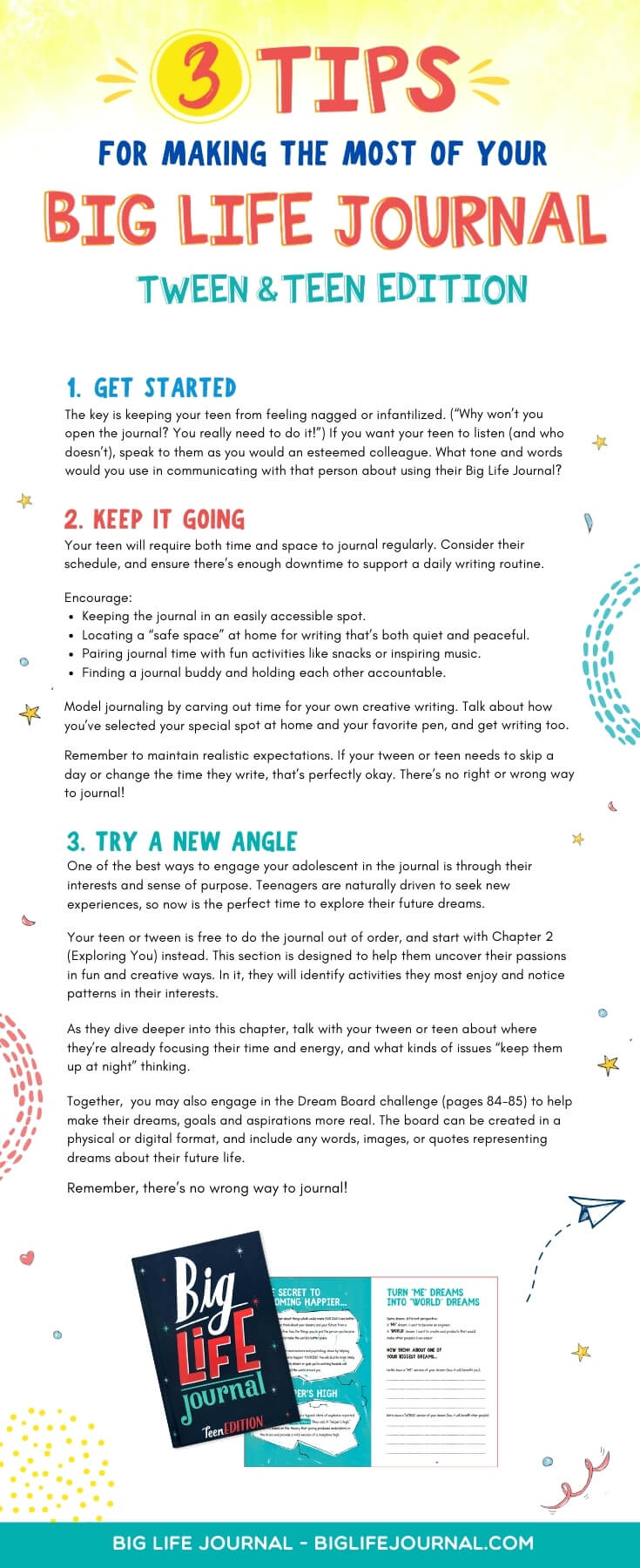 3 Tips for Making Most of Big Life Journal Tween and Teen Edition