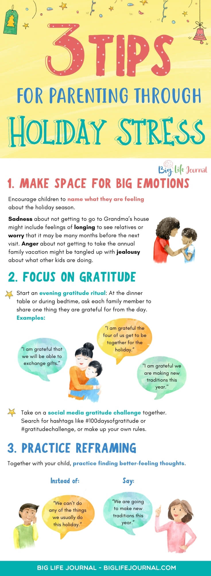 3 Tips for Parenting Through Holiday Stress