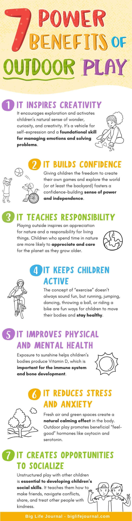 7 Benefits to Outdoor Play