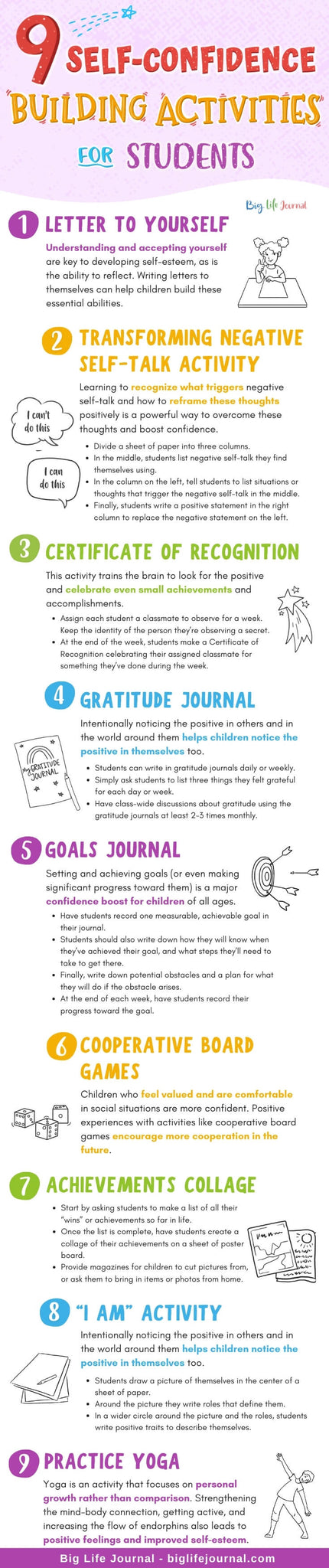 9 Self-Confidence Building Activities for Students
