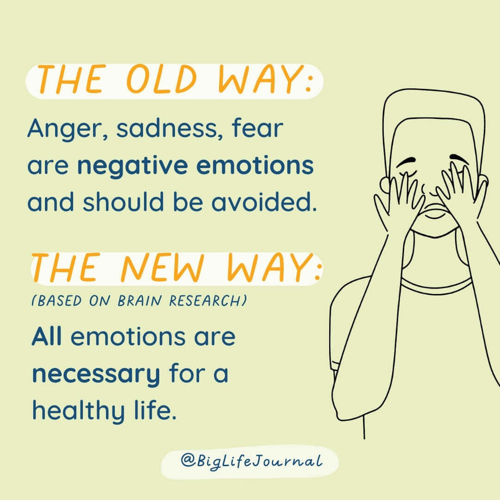 All emotions are necessary for a healthy life