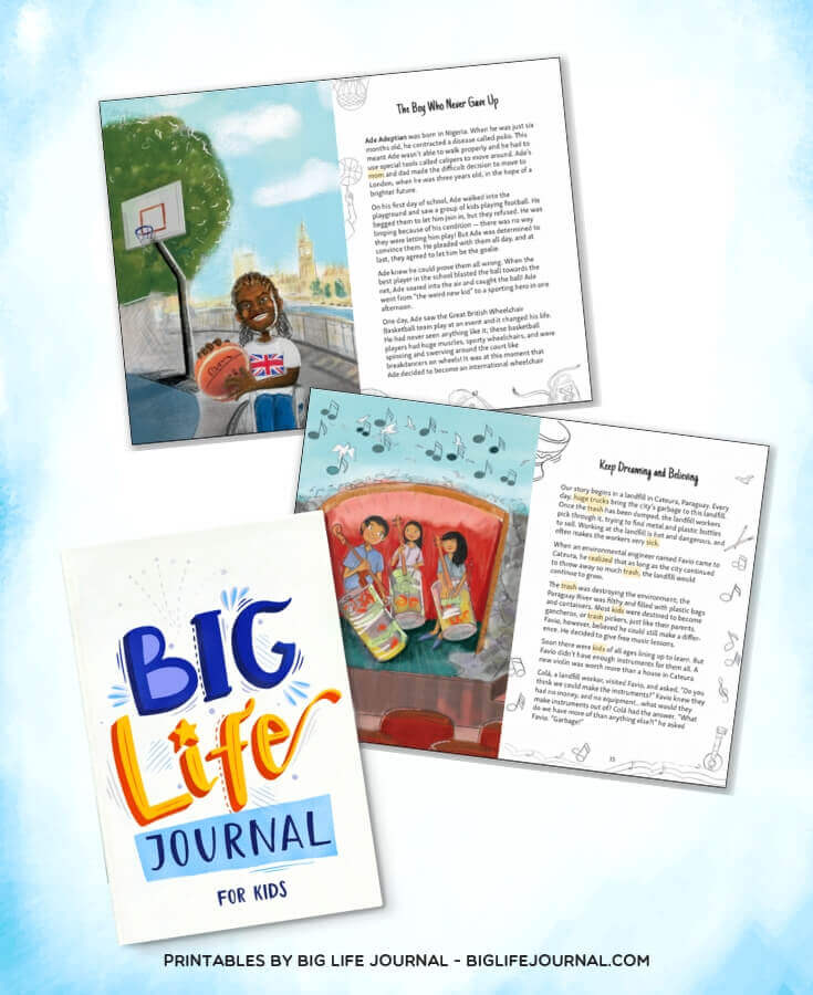 Big Life Journal Stories