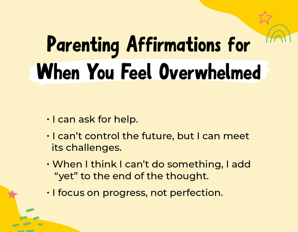 Parenting Affirmations When You Feel Overwhelmed