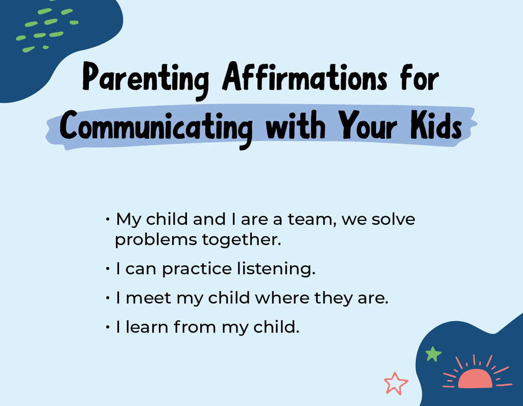 Parenting Affirmations to Communicate with Your Children