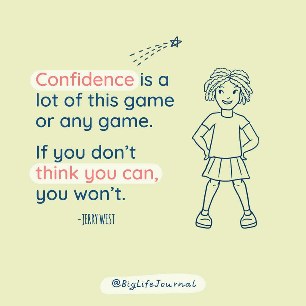 Confidence is a lot of this game