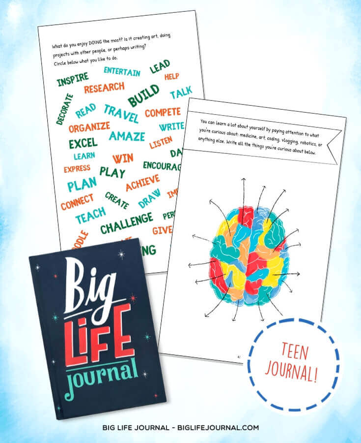Big Life Journal for Tweens/Teens (ages 11+) - Chapter 2
