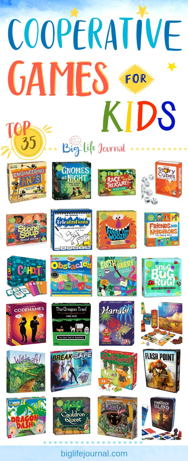 Cooperative Games - big life journal