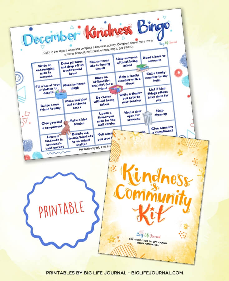Kindness Bingo - Kindness & Community Kit