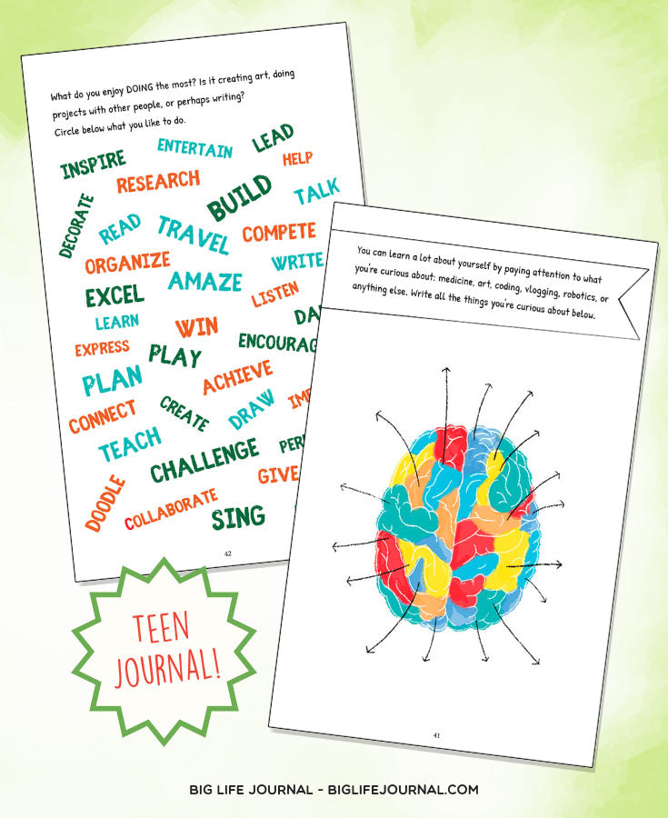 Exploring you - teen journal