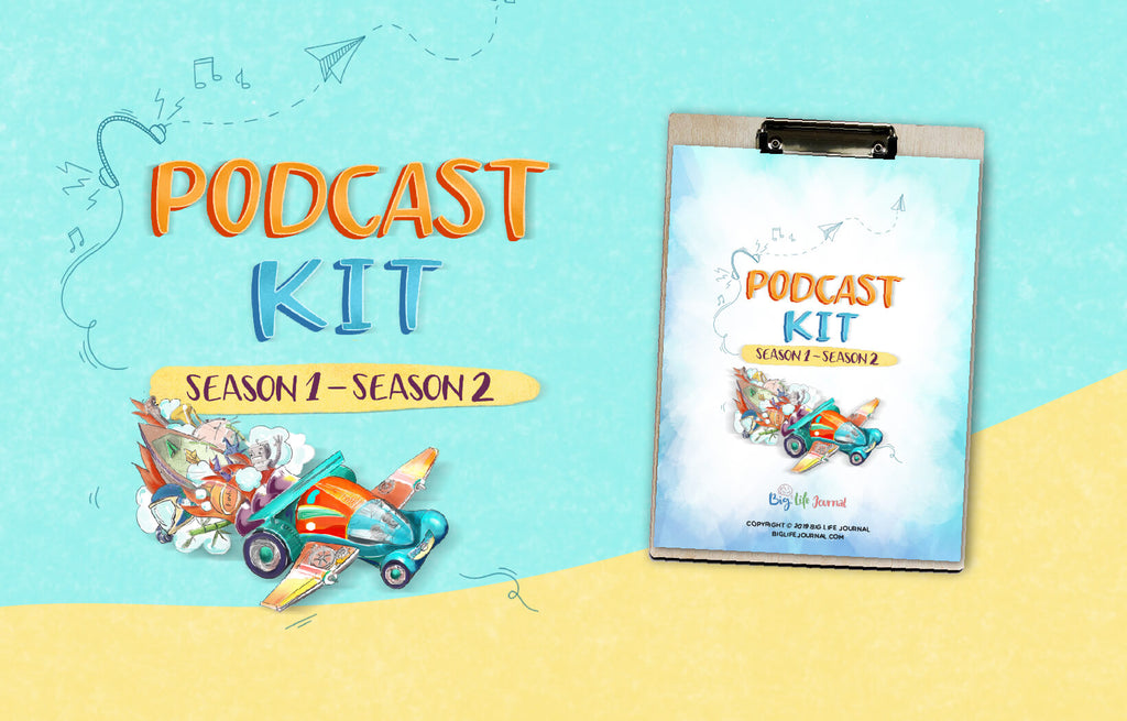 Podcast Activity Kit PDF (ages 5-11)