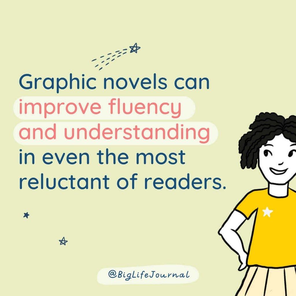 Graphic novels can improve fluency