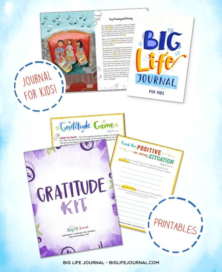 Gratitude Kit and BLJ - Big Life Journal
