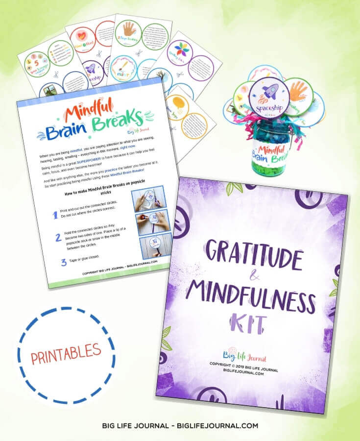 Gratitude and Mindfulness Kit