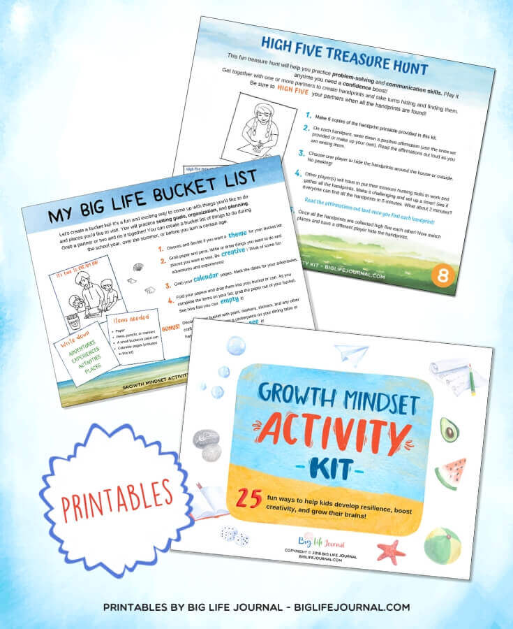 Growth Mindset Activity Kit