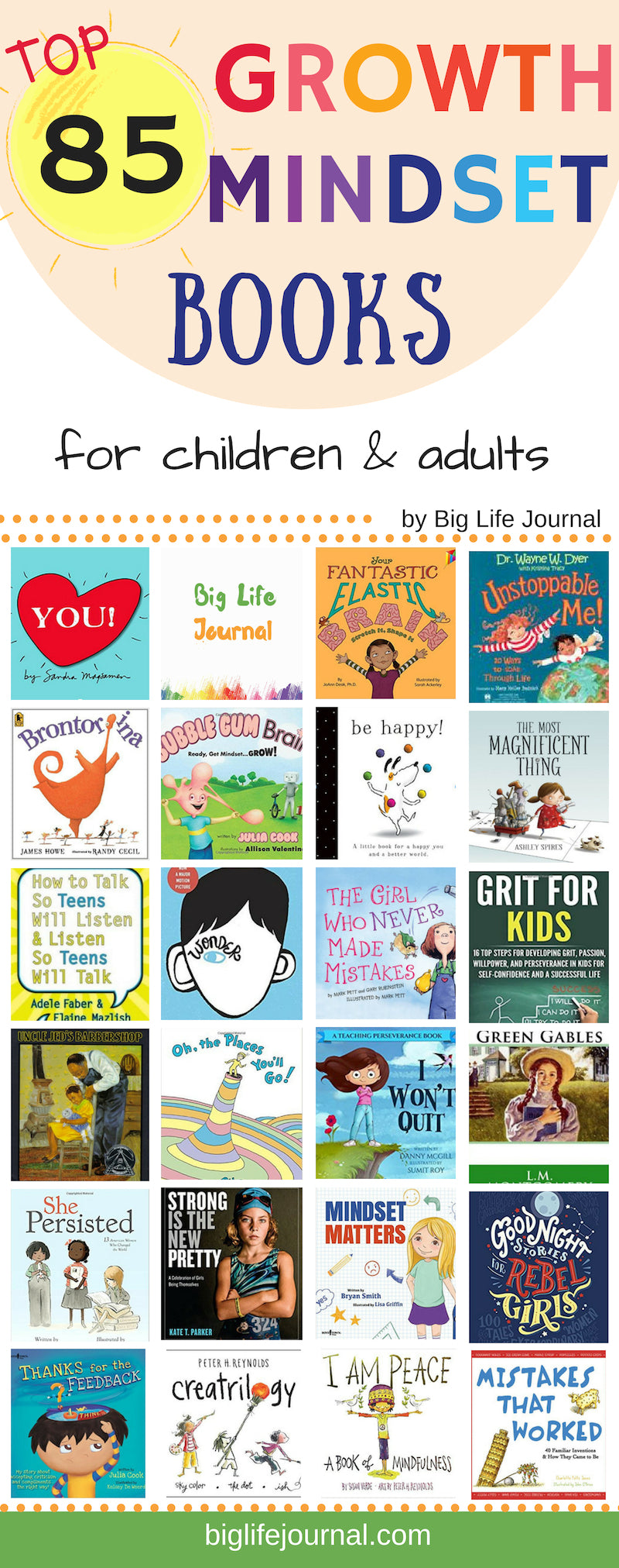 growth mindset books kids
