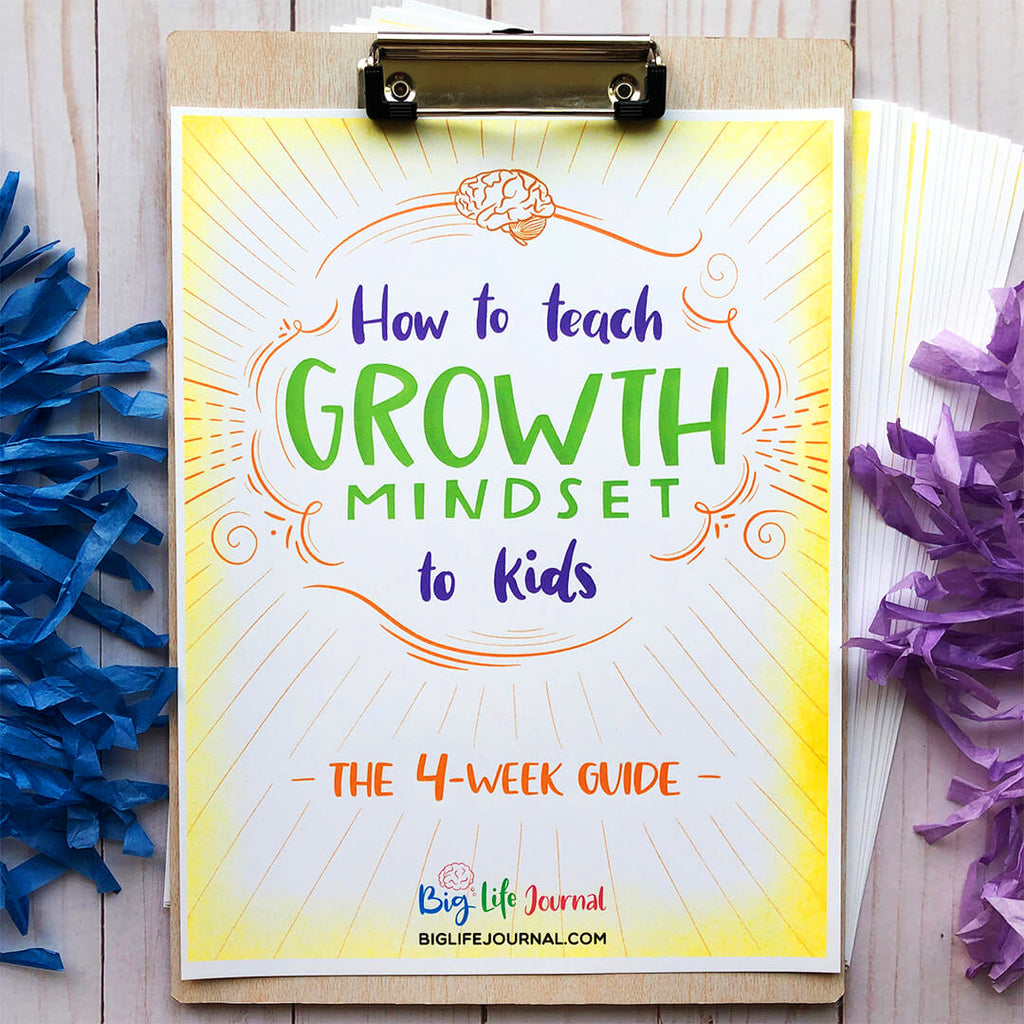 4- Week Guide, How to Teach Growth Mindset to Kids