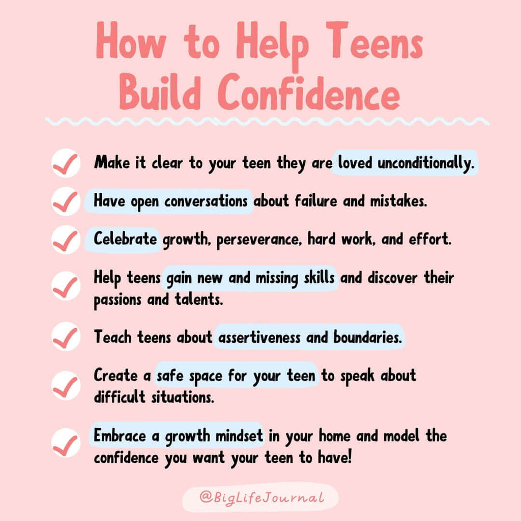 How to help teens build confidence