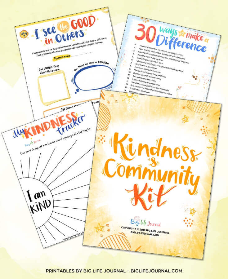 Kindness & Community Kit - Big Life Journal