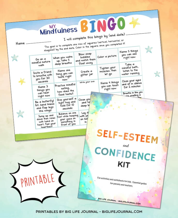 My Mindfulness Bingo  - Big Life Journal