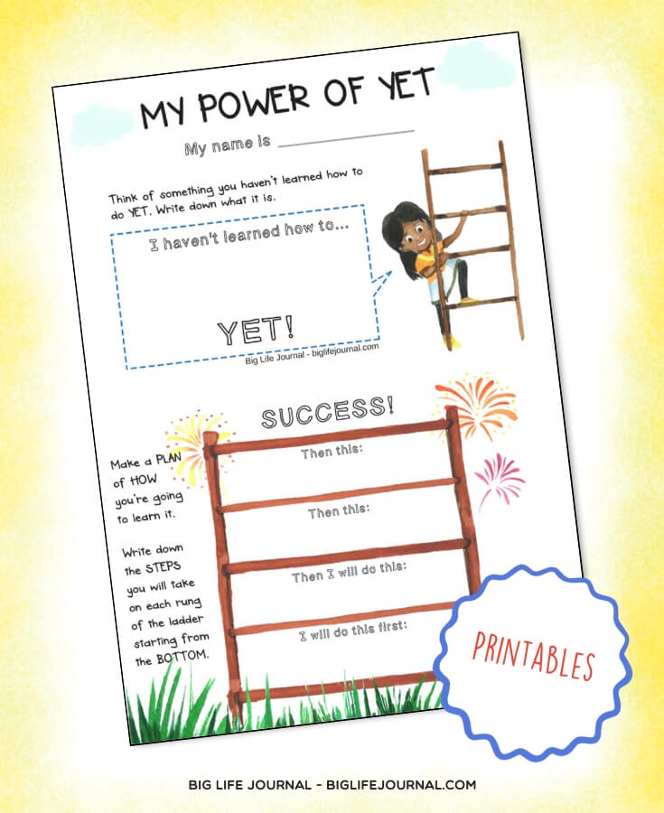 My Power of Yet - Big Life Journal