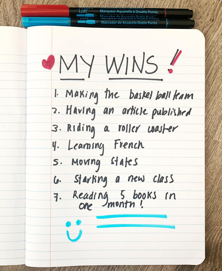 My Wins - Big Life Journal
