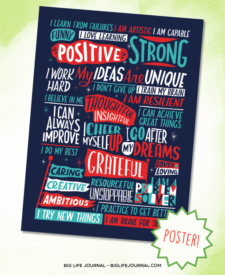 Positive Affirmations - Teen Journal