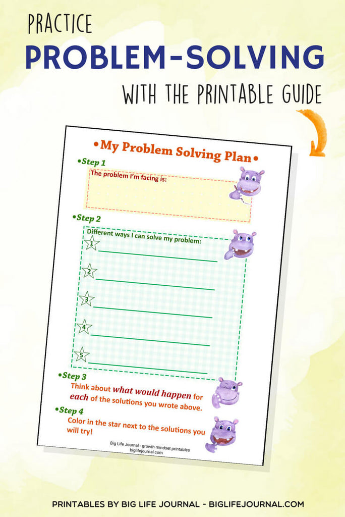 Problem-Solving-Plan-Printable-Growth-Mindset-Printables-Kit-Big-Life-Journal