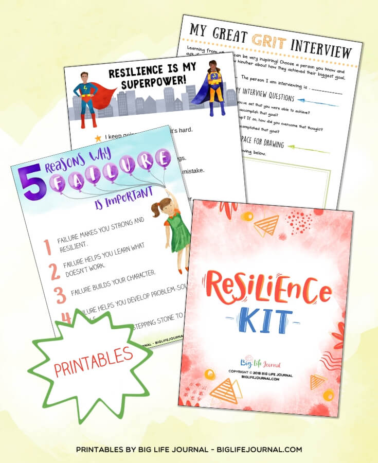 Resilience Kit - Big Life Journal