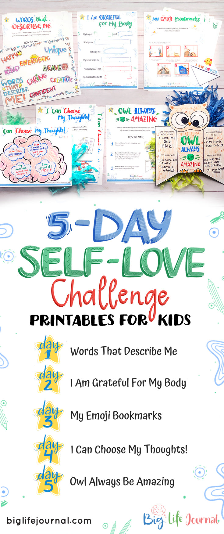 5-Day Self-Love Challenge for Children