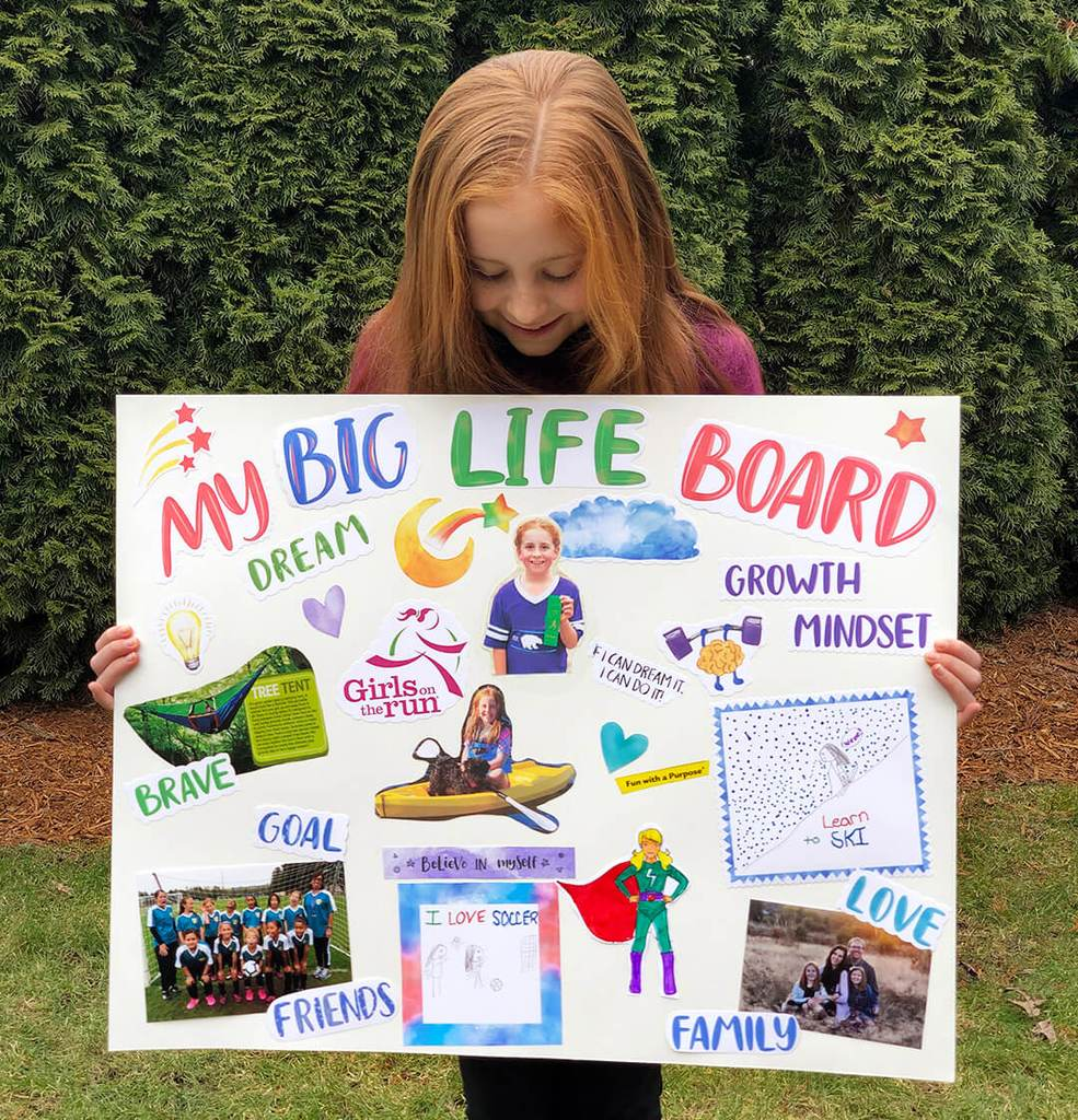 Big Life Board Girl
