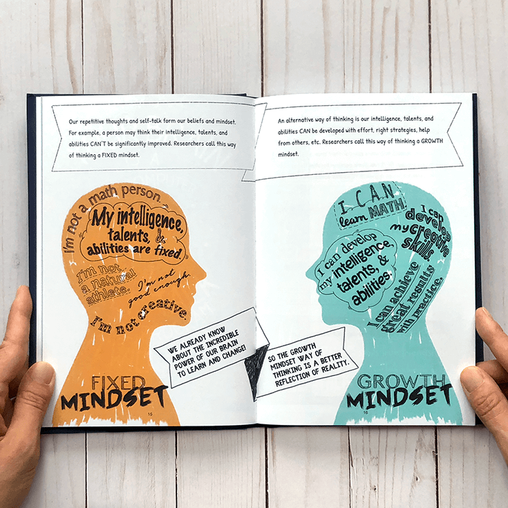 Growth Fixed Mindset Big Life Journal