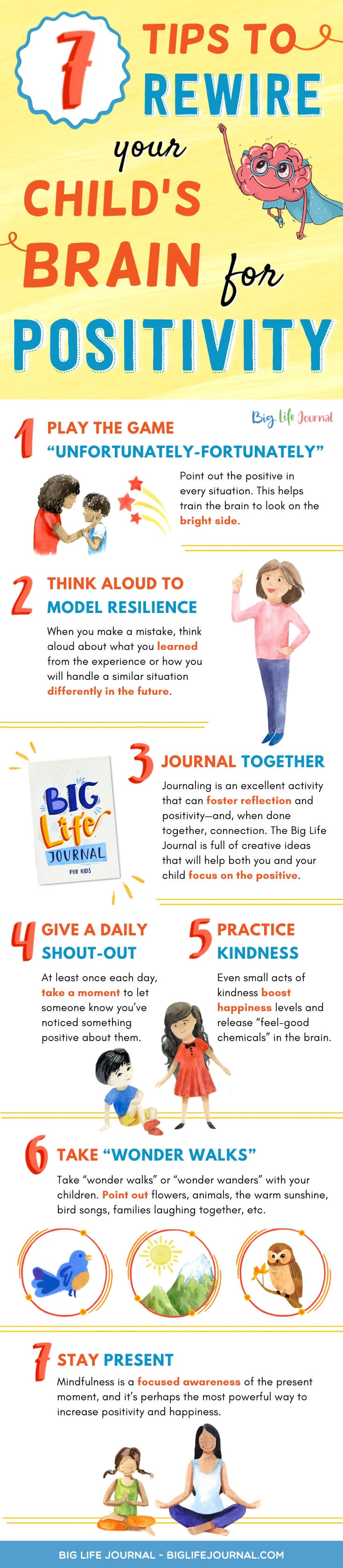Tips to Rewire Your Child's Brain for Positivity