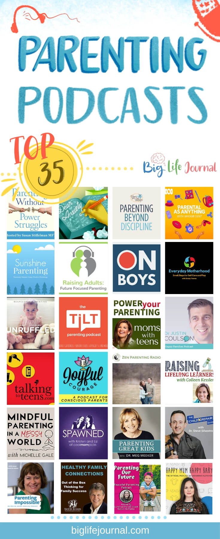 Top 35 Parenting Podcasts