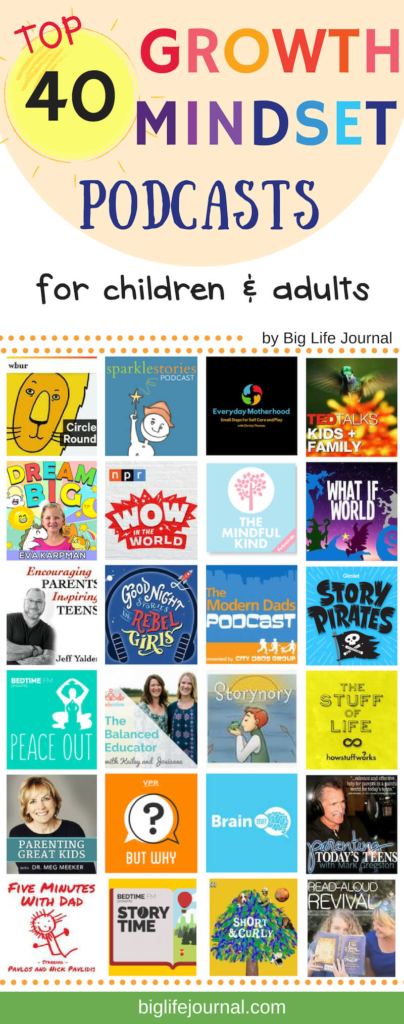 Top 40 Podcasts for families