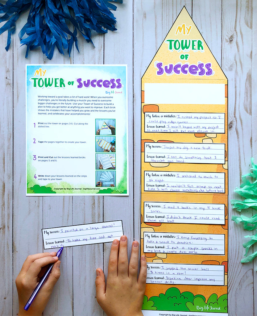 Tower of Success Printable