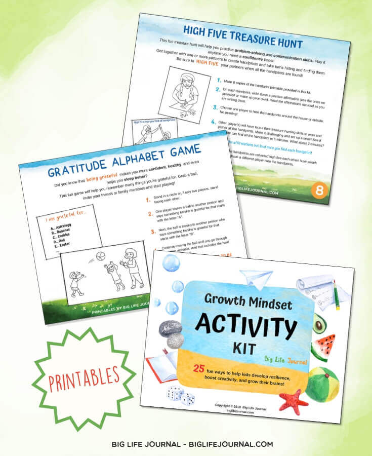 Growth Mindset Activities Kit