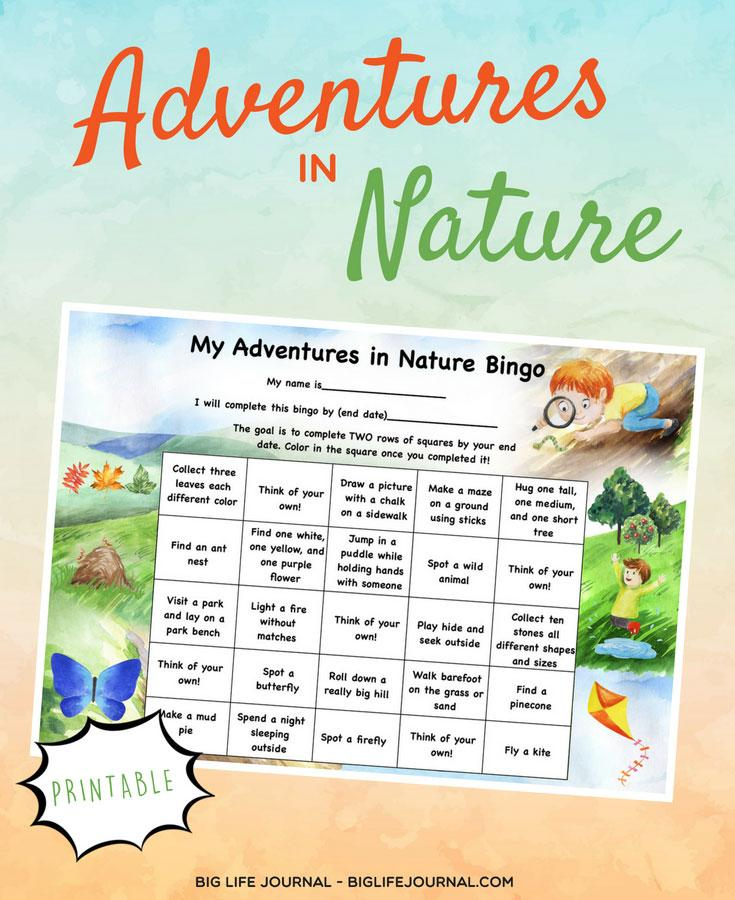 adventures-nature-bingo-big life journal