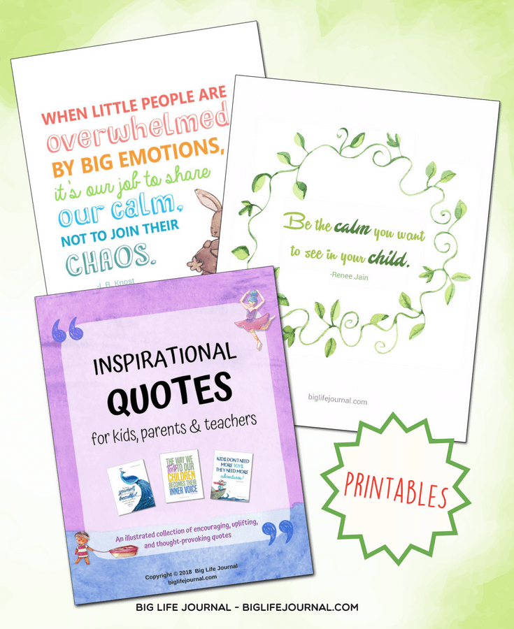 be the calm quotes kit big life journal