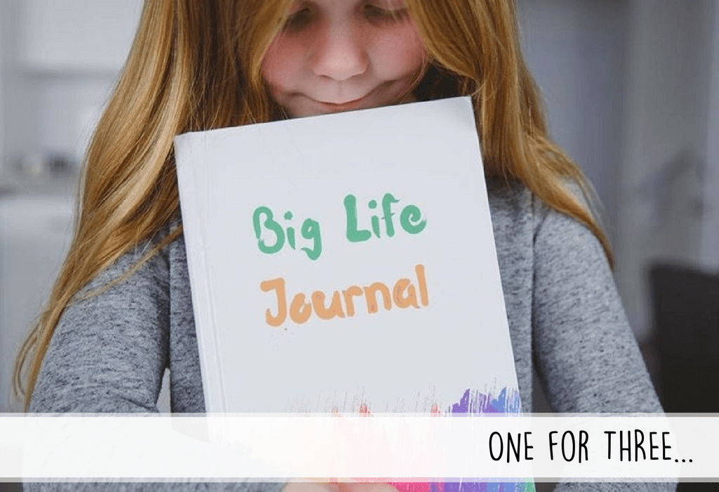 Big Life Journal for kids donates to schools and non-profit organizations