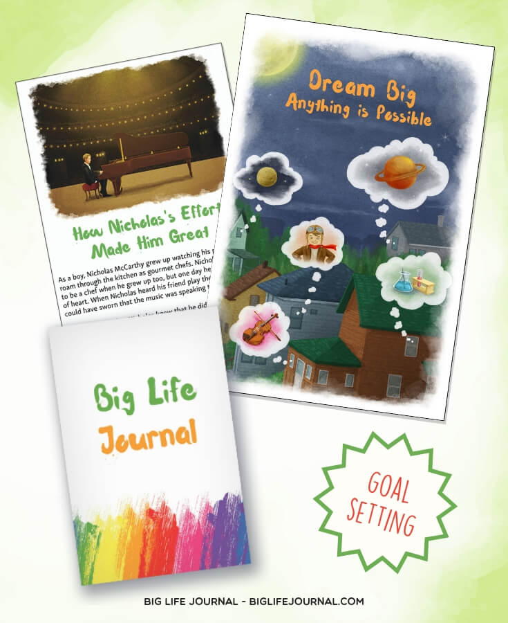 dream big effort - big life journal