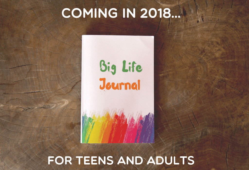 A growth mindset journal for teens and adults coming in 2018 on Kickstarter.