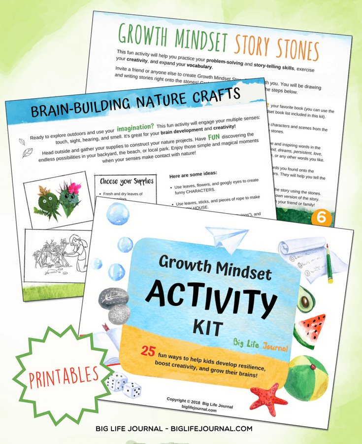 growth mindset activity kit classroom kids students