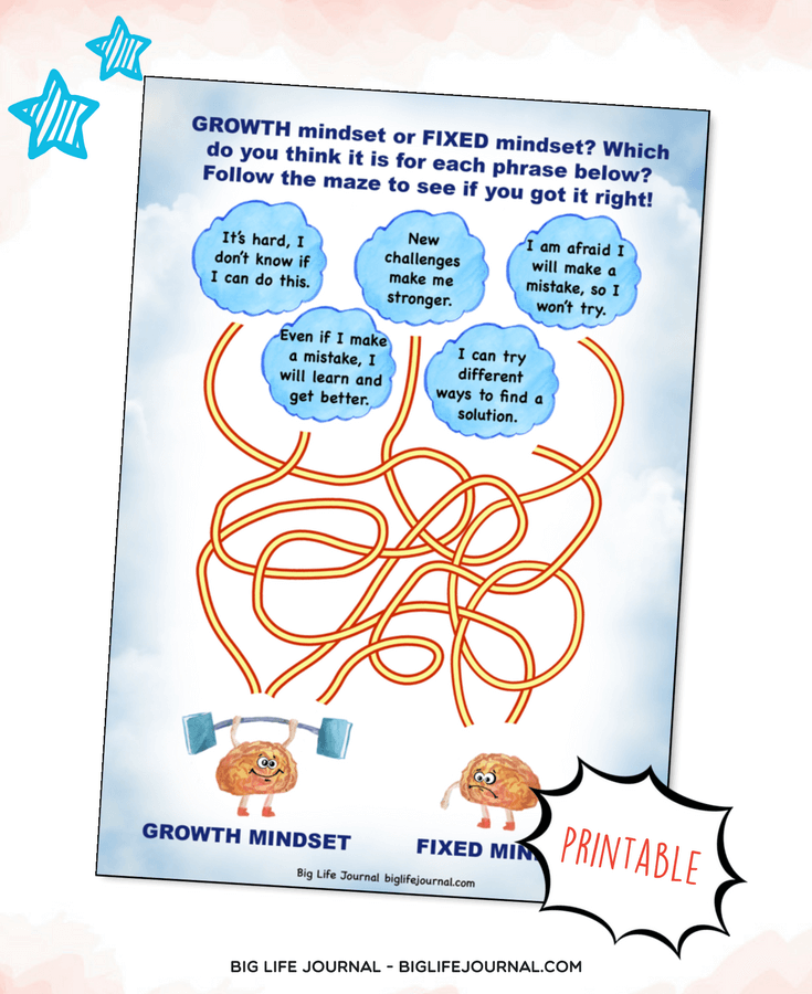 growth mindset game kids
