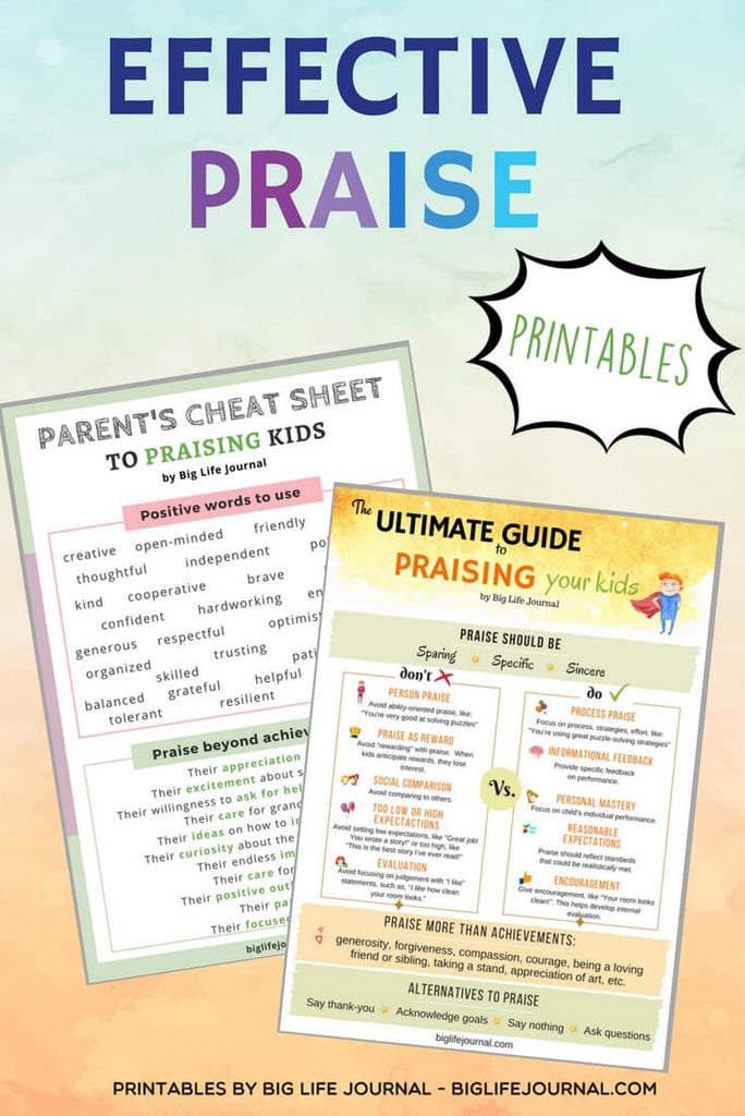 The Ultimate Guide to Praising Your Kids – Big Life Journal