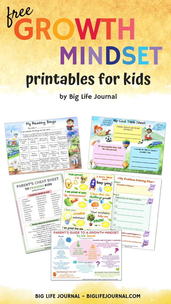 picture regarding Journal Printables identified as Progress Mentality PRINTABLES (No cost) Substantial Daily life Magazine